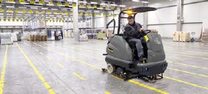 Industrial Ride-on Scrubber Dryers